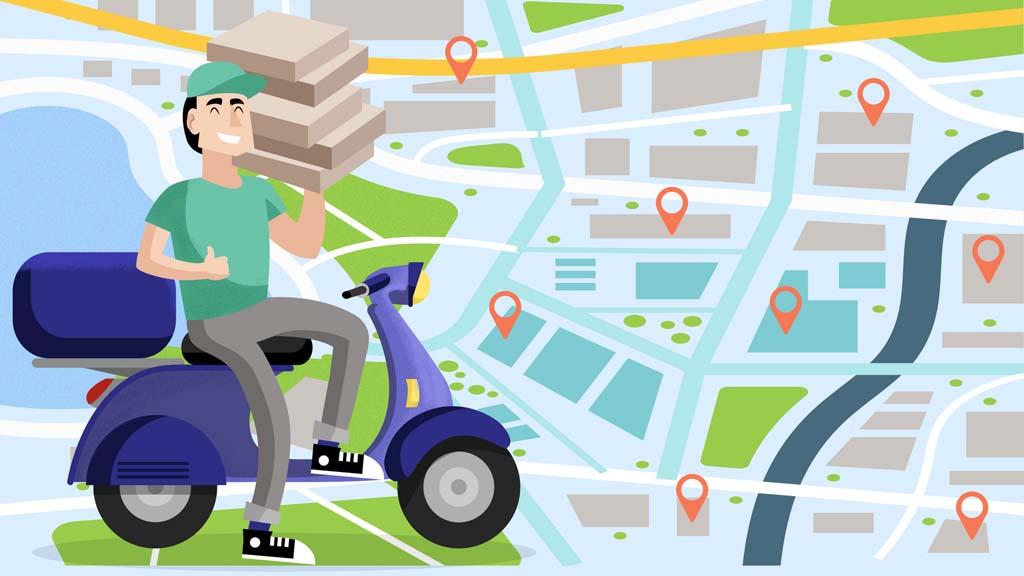 配送员远程接单和商家订单调度
