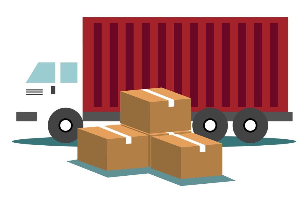 线下打包订单,联系快递公司,安排发货